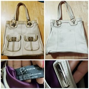 B. Makowsky Cream Colored Bag